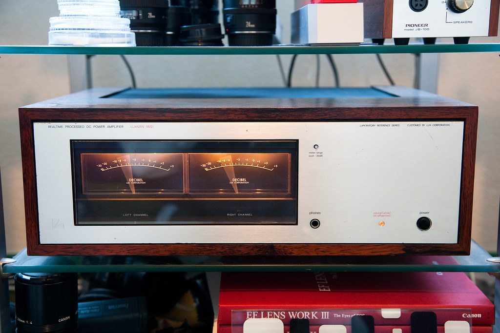 Audio Set 3 2 Here A Picture Of The Luxman 5m21 Power