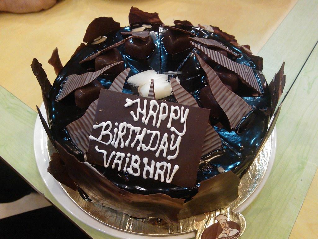 Birthday Cake Images With Name Vaibhav : Birthday cake! Cake FTW! :) Vaibhav Sharma Flickr