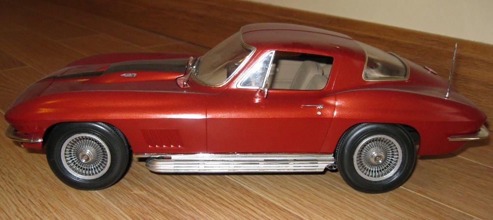 Monogram 67 Corvette 427 1 12 7 Monogram 67 Corvette 427