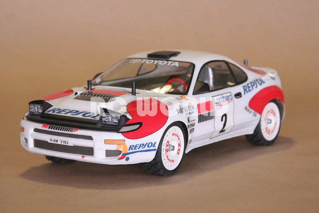 1 10 Tamiya Rc Toyota Celica Gt Four Rally Flickr