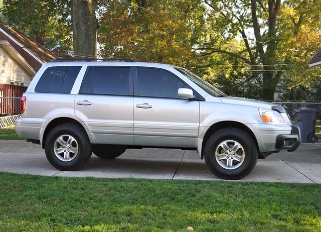 2005 Honda Pilot With Ready Lift 2in Lift And 235 85 16 S