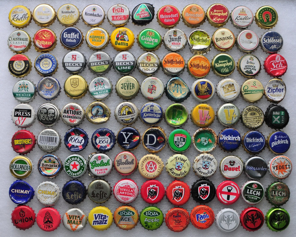 European Bottle Caps Most People Bring Back Regular