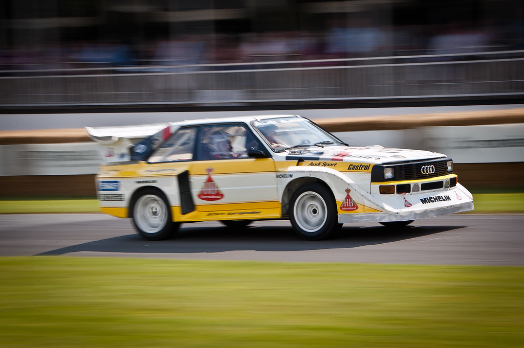 Audi Quattro S2 Rally Cars At Goodwood Festival Of Speed