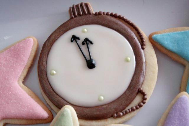 Midnight Clock Cookie.   Flickr - Photo Sharing!