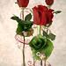 Valentine's Day Bejeweled Bud Vases