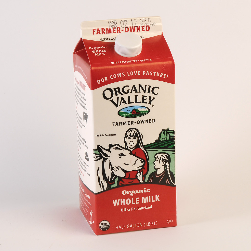 Organic Valley Farms Organic Valley Whole Milk