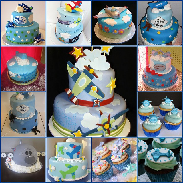 airplane baby shower cakes flickr photo sharing