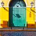 Door of the San Juan Museum, Puerto Rico