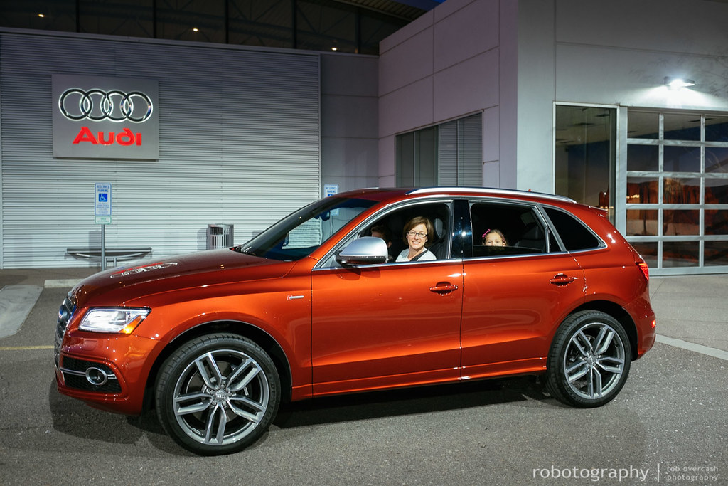 Sq5 Delivery Volcano Red 2014 Audi Sq5 Rob