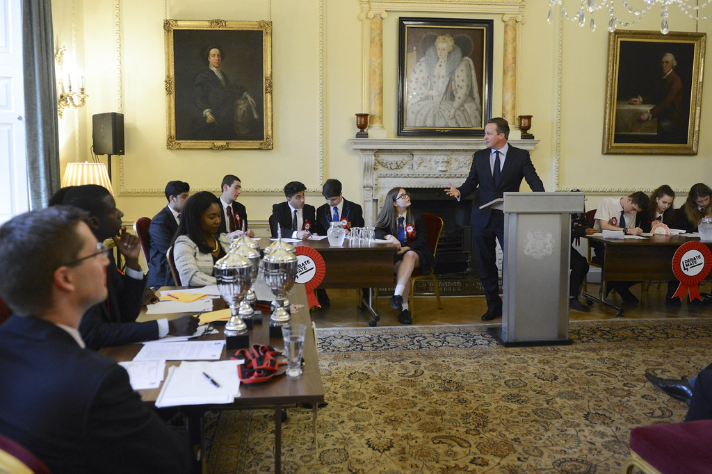 David cameron launches final of downing street debates flickr - Office of prime minister uk ...
