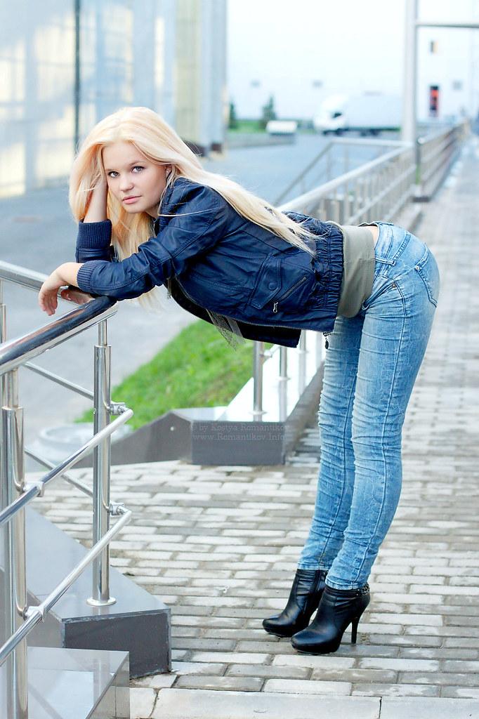 russian sexy slender girl