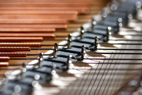 Piano strings | by kevin dooley