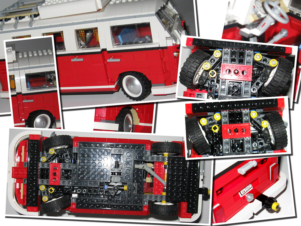 Steering Lego Vw Bus 10220 I Modified The Lego 10220