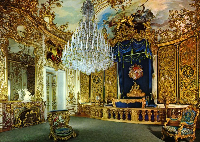 postcard - Linderhof, King's Bedroom | Linderhof is the ...