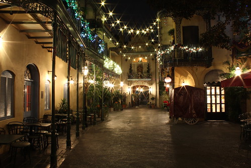 New Orleans Square at Night, Disneyland in California | by Mastery of Maps