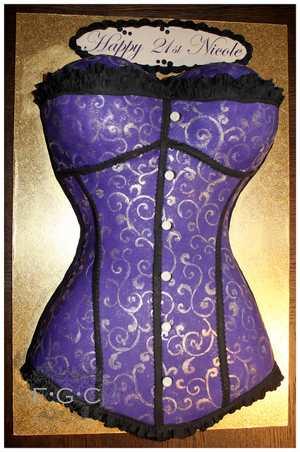 Corset Cake Flickr Photo Sharing