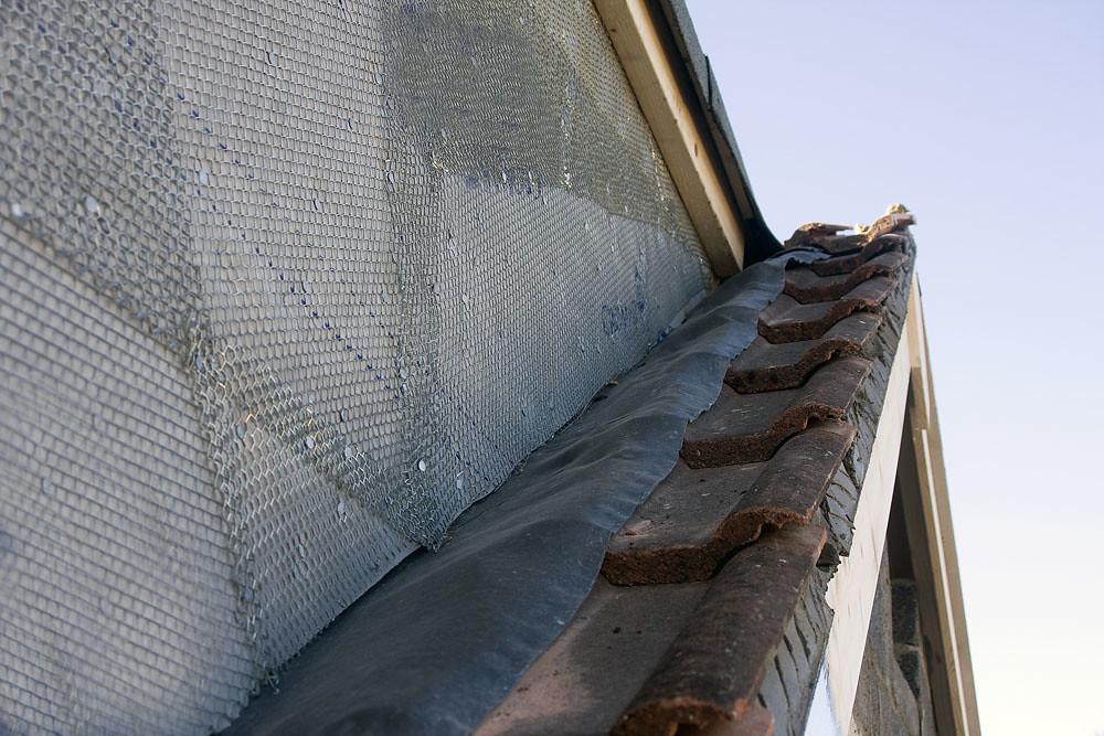 Dormer Construction Flashing To Dormer Cheek Lead