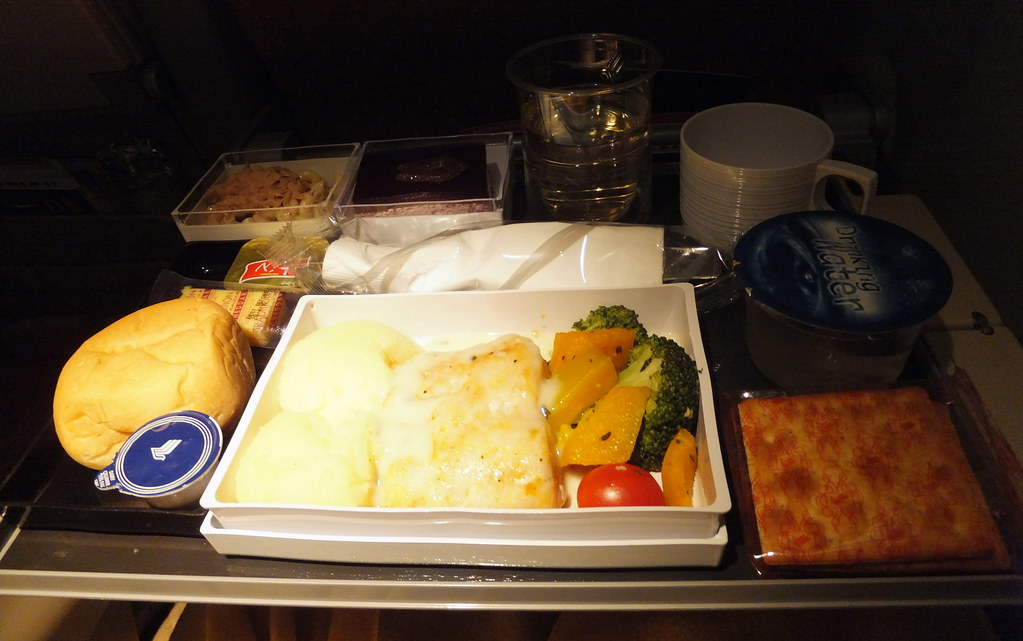 SQ Singapore Airlines In-flight Meal SIN-MXP | 200V ...