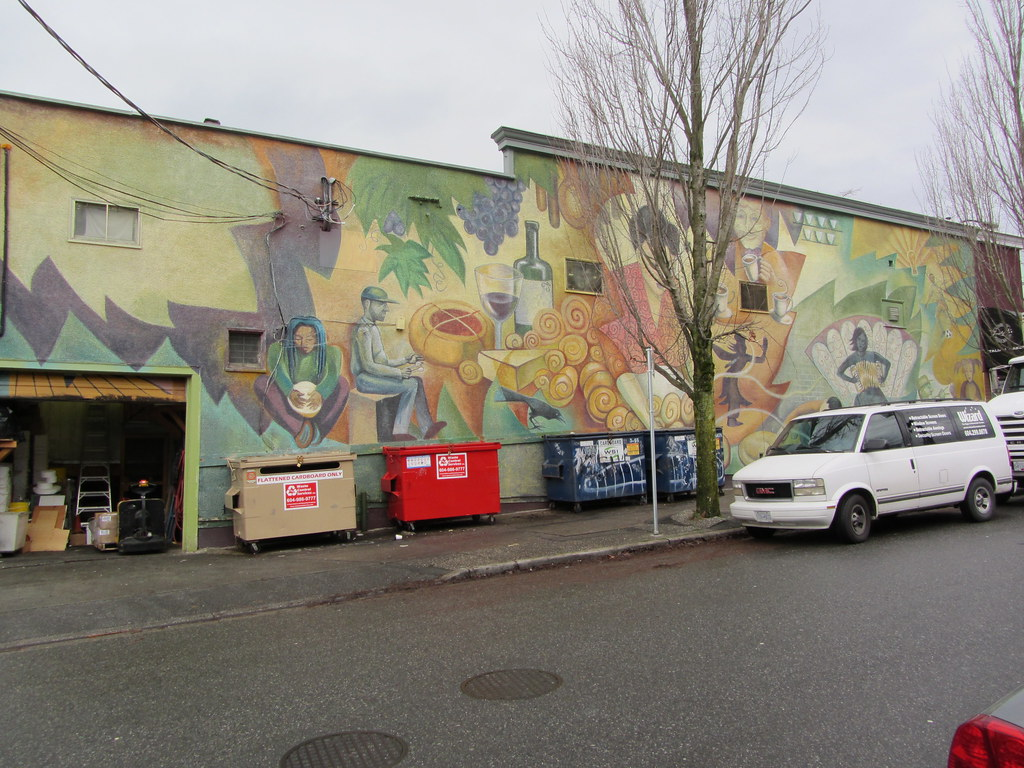 Commercial drive area mural we went shopping today on for Commercial mural