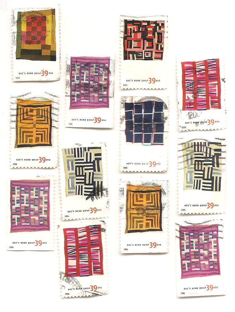 Gee S Bend Quilts Us Postage Stamps 2006