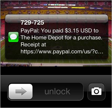 PayPal Home Depot receipt | by ebayink