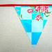 Toile ciree vlaggenlijn