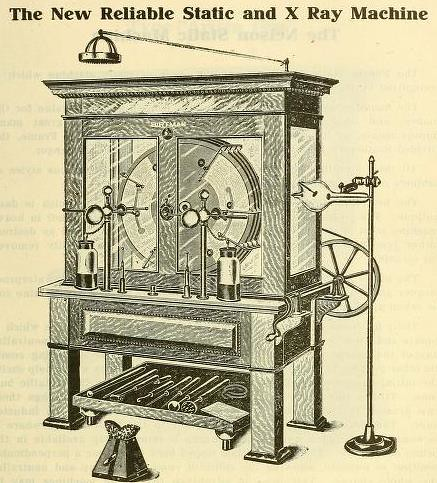 Static And X Ray Machine That Quot Cap Quot At The Top Of The