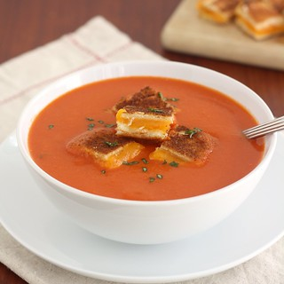 Creamless Creamy Tomato Soup | by Tracey's Culinary Adventures