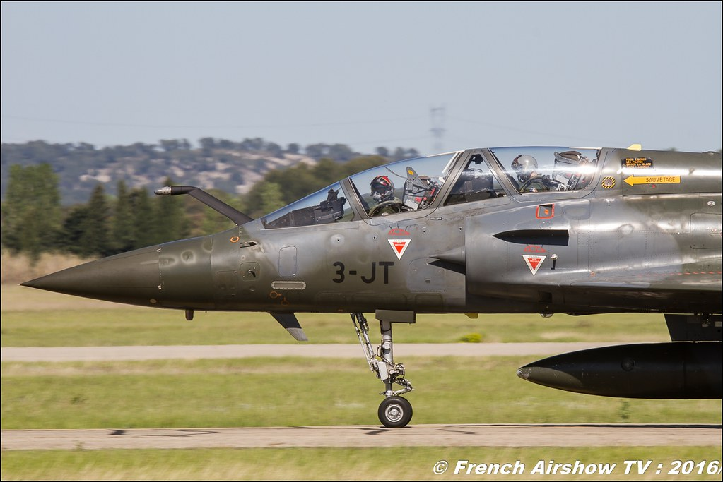 Mirage 2000D , BA-133 Nancy , BA-701 Salon de Provence , Meeting Aerien 2016