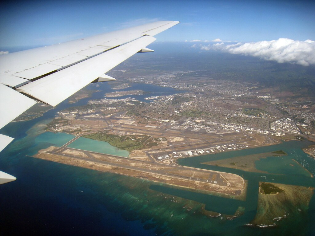 Honolulu Airport Overview  Overview Of HNL The Reef