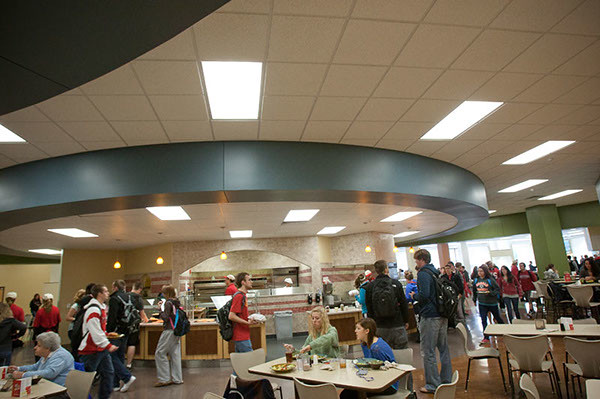 Campus dining at illinois state university grabbing for Watterson dining