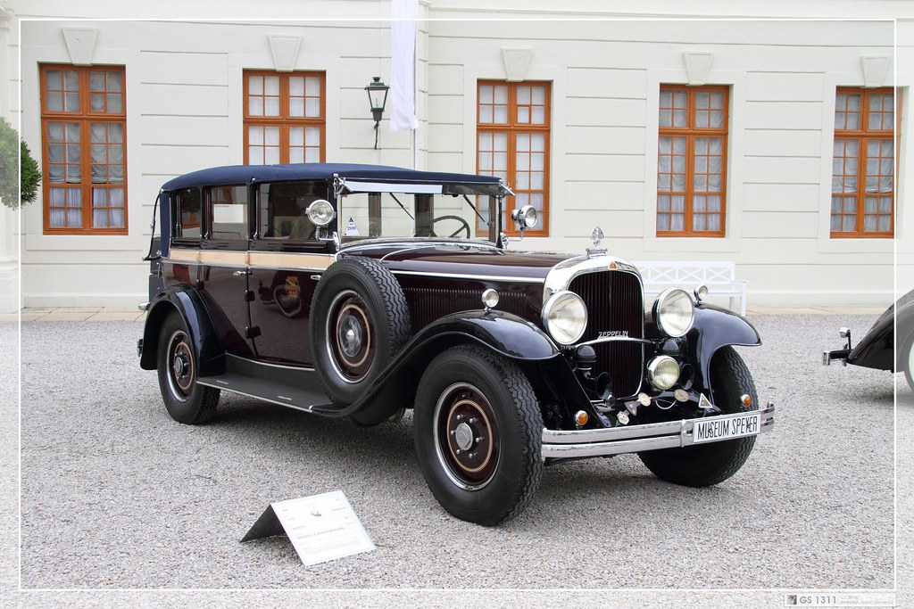 1930 Maybach Zeppelin Maybach Has Historic Roots Through