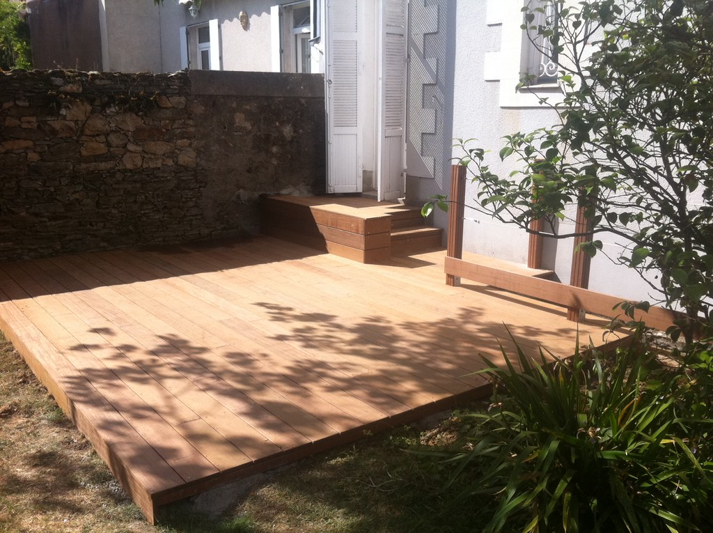 terrasse en bois exotique ip carquefou bois. Black Bedroom Furniture Sets. Home Design Ideas