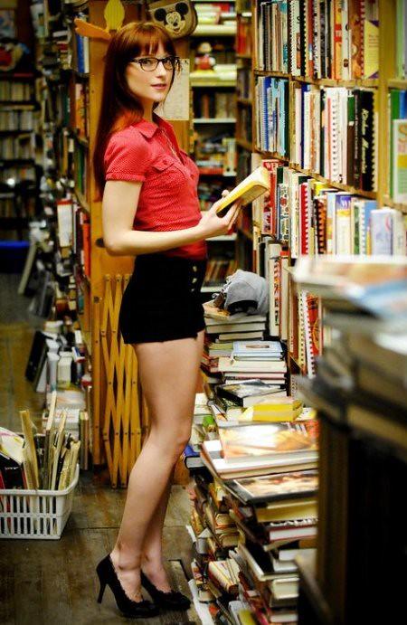 Sexy librarian Nude Photos 95