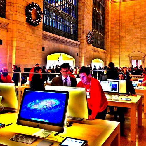 Apple Cathedral at Grand Central Terminal | by plaintruthiness