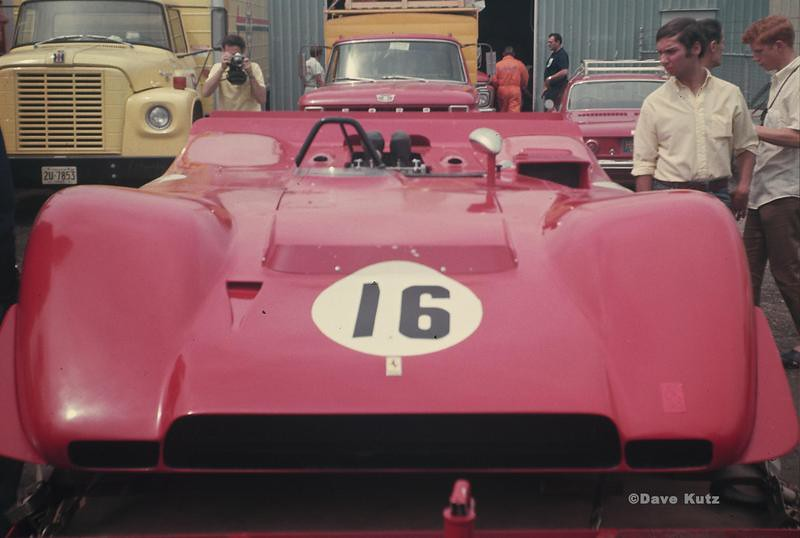 Ferrari 612 Canam First Appearance At Watkins Glen 1969