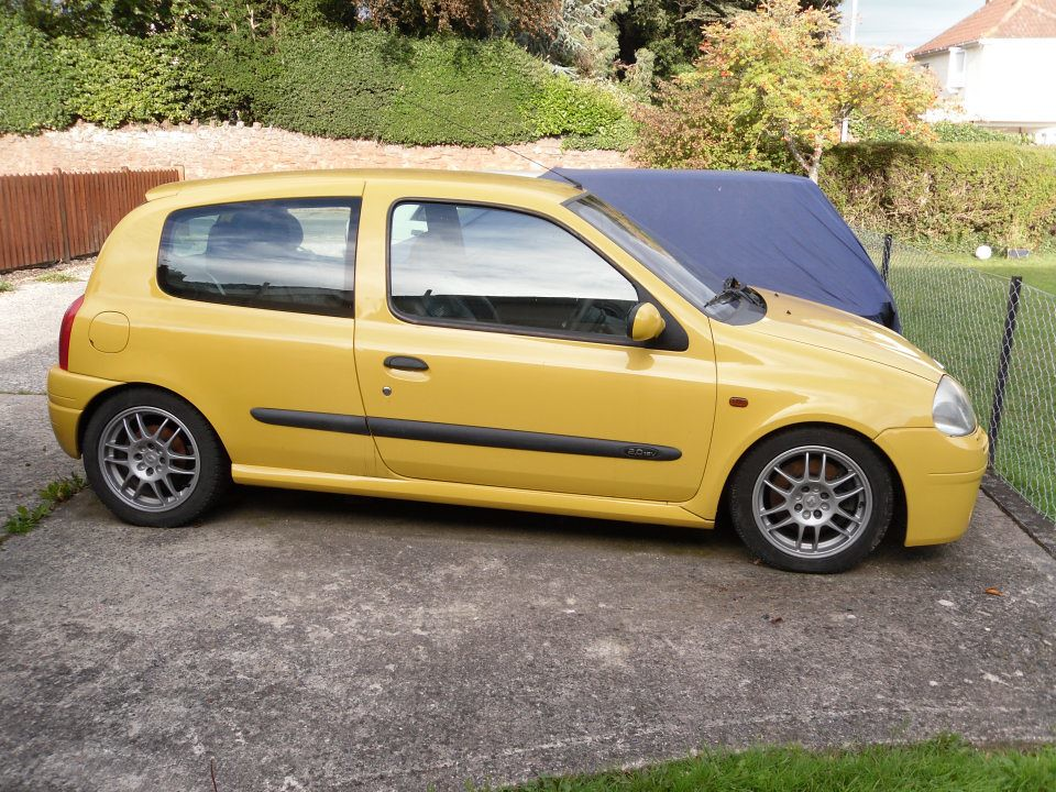 renault clio 172 phase 1 ph1 sunflower yellow renault5dave flickr. Black Bedroom Furniture Sets. Home Design Ideas