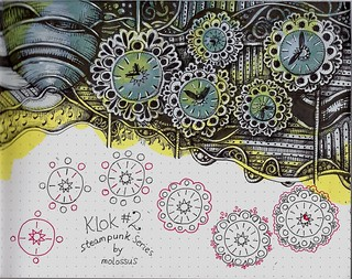 Klok #2-tangle pattern | by molossus, who says Life Imitates Doodles