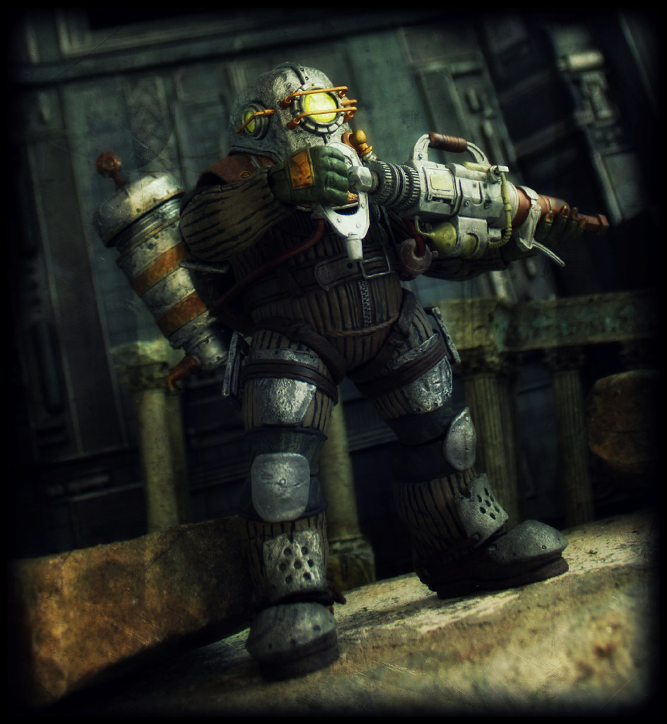 Neca bioshock big daddy rosie ed speir iv flickr for Big daddy s antiques