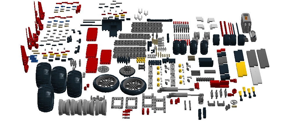 lego cuusoo project lego technic 500 pieces pack flickr. Black Bedroom Furniture Sets. Home Design Ideas