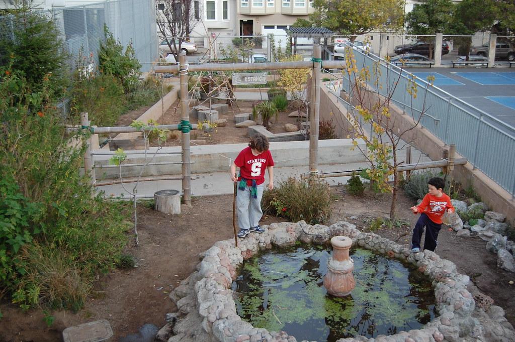 Alvarado elementary school urban gardening san for Garden designs for schools