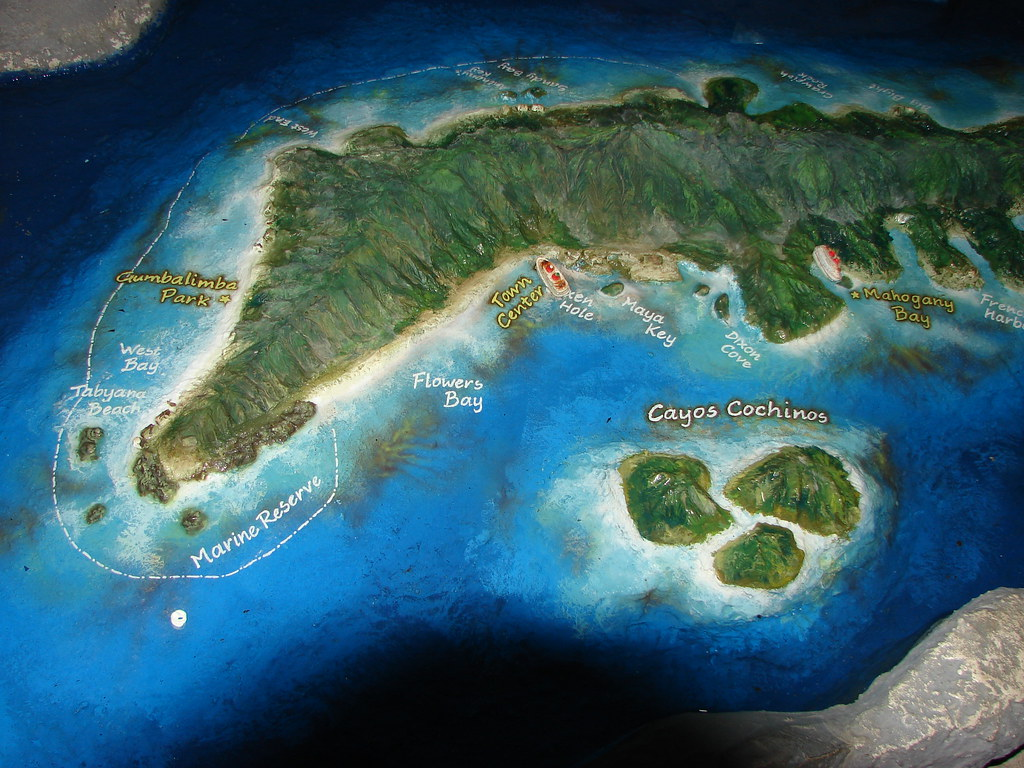 Tabyana Beach Roatan Bay Islands Honduras