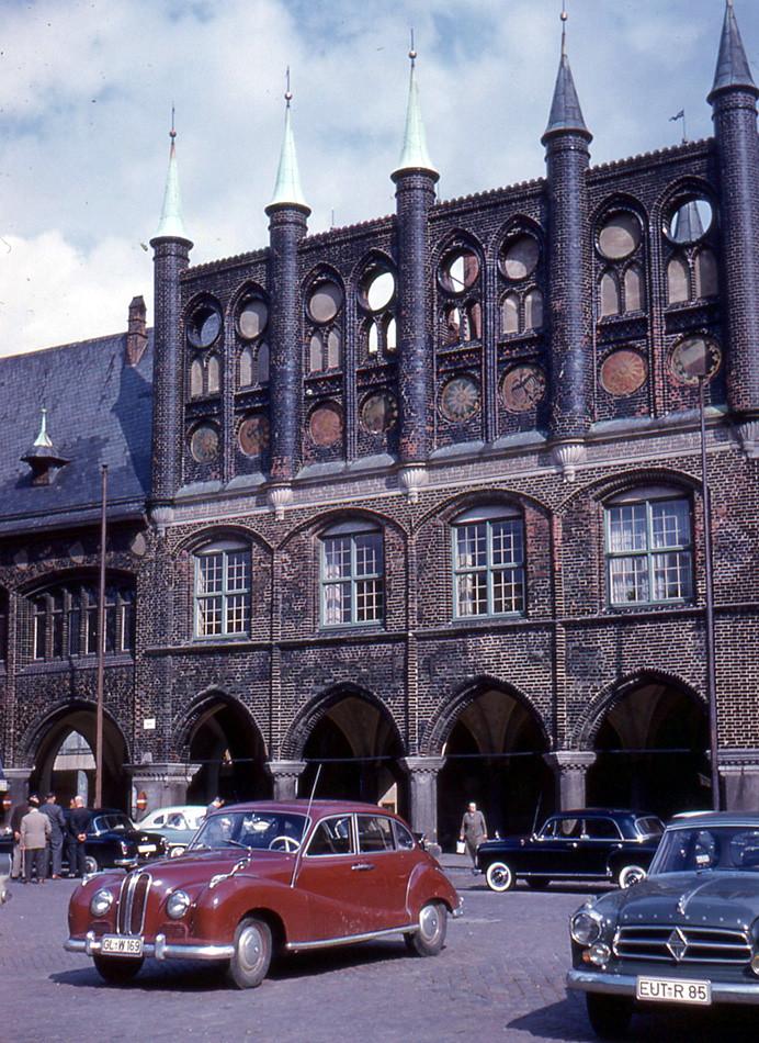 l beck rathaus 1960 the rathaus city hall in l beck flickr. Black Bedroom Furniture Sets. Home Design Ideas