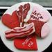 Man Meat Valentine Cookie Gift Box