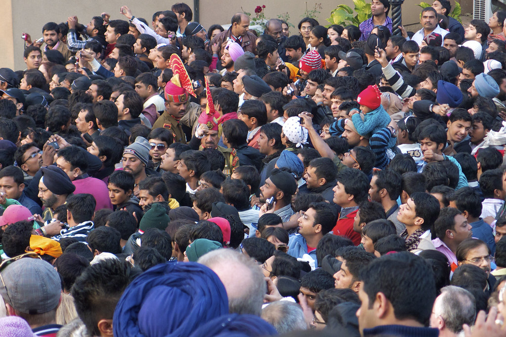 Crowd Crush | The standard India crush of any crowd. How
