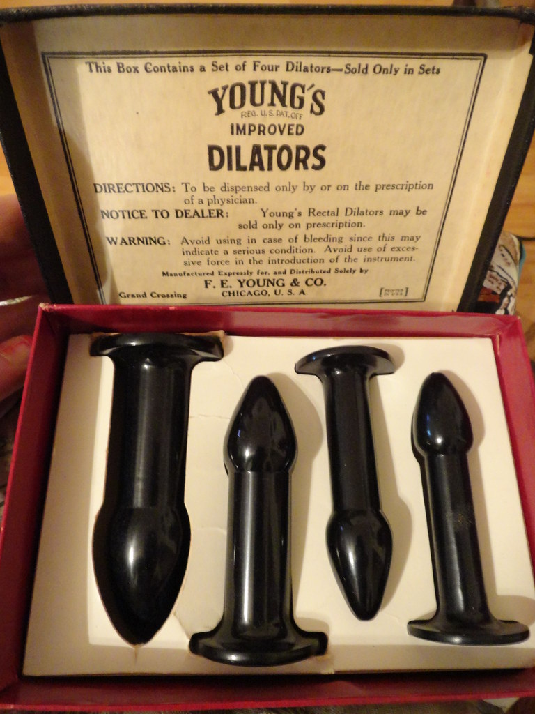 Anal dilators for medical use