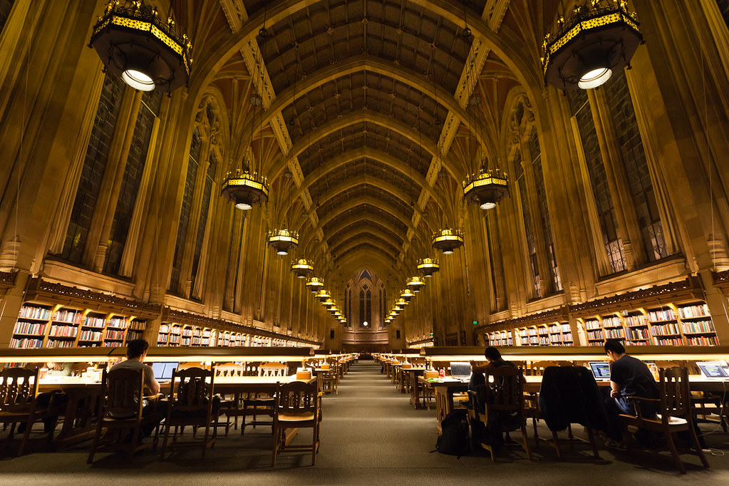 Suzzallo Library Harry Potter Room
