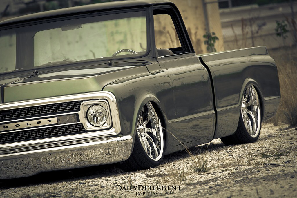 New Chevy Truck >> A Decade of Diligence: Andy's Bagged C10. | The Daily ...