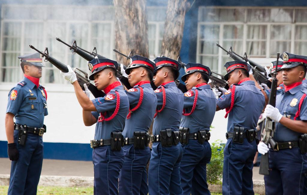 Philippine National Police - 21 gun salute | Herman ...