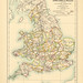 Map page of section XXIV England and Wales showing the Parliamentary Representation According to the Reform Act of 1832 from Part XXVII of Historical atlas of modern Europe from the decline of the Roman empire : comprising also maps of parts of Asia and o